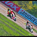 Valentino Rossi Leads Marco Simoncelli by Blake Richards