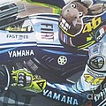 Valentino Rossi - The Doctor by Richard John Holden RA