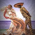 Vallarta Dancers by Maria Coulson