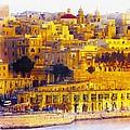 Valletta Capital Of Malta by Don Kuing