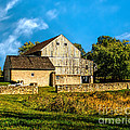 Valley Forge Barn by Nick Zelinsky