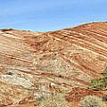 Valley Of Fire - Fire Wave Panorama by Debby Richards