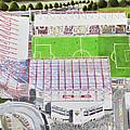Valley Parade Stadia Art - Bradford City Fc by Brian Casey