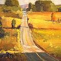 Valley Road by Nancy Merkle