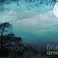 Valley Under Moonlight by Bedros Awak