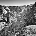 Valley View At Glacier Point by David Beebe