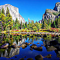 Valley View Reflection Yosemite National Park by Scott McGuire