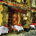 Van Gogh Style Restaurant by Georgiana Romanovna