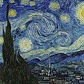 Van Gogh The Starry Night by Movie Poster Prints