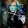 Van Halen - David Lee Roth by Absinthe Art By Michelle LeAnn Scott
