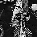 Van Nuys Boulevard 092 15a Uneasy Rider by Richard McCloskey