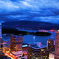 Vancouver At Night by Jordan Blackstone