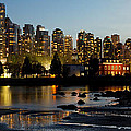 Vancouver Bc City Skyline And Deadman's Island by Jit Lim