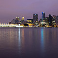 Vancouver Bc City Skyline At Dawn by Jit Lim