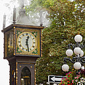 Vancouver Bc Historic Gastown Steam Clock by Jit Lim