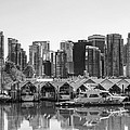 Vancouver Boatsheds by Ross G Strachan