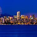 Vancouver Celebration Of Light Fireworks 2013 - Day 1 by Alexis Birkill