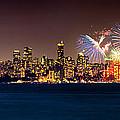 Vancouver Celebration Of Light Fireworks 2013 - Day 2 by Alexis Birkill