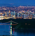 Vancouver From Cypress Mountain by Alexis Birkill