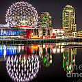 Vancouver Science World In False Creek - By Sabine Edrissi by Sabine Edrissi