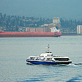 Vancouver Sea Bus  by Nicki Bennett