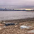 Vancouver Skyline From Jericho Beach by James Wheeler