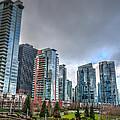Vancouver Waterfront by Les Lorek