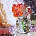 Vase Of Flowers II by Susan Elizabeth Jones