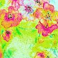 Vase Of Spring Flowers by Hazel Holland