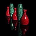 Vases In Dark by Ramon Martinez