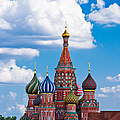 Vasily The Blessed Cathedral And The Red Square Of Moscow - Featured 3 by Alexander Senin