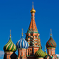 Vasily The Blessed Cathedral On Moscow Red Square - Featured 2 by Alexander Senin