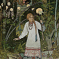 Vassilissa In The Forest by Ivan Bilibin