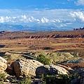 Vast Desert Landscape by Cascade Colors