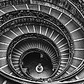 Vatican Bramonte Staircase  by Gigi Ebert