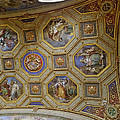 Vatican Ceiling Fresco 2 by Herb Paynter