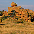 Vedauwoo Rocks Sunset Wyoming by Ed  Riche