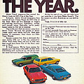 Vega - Car Of The Year 1971 by Mountain Dreams