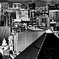 Vegas Black And White by Benjamin Yeager
