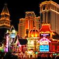 Vegas Lights by Lutz Baar