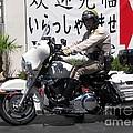 Vegas Motorcycle Cop by John Malone