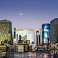 Vegas Night Skyline by Hugh Walker