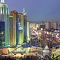 Vegas Skyline by Jon Neidert