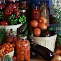 Vegetables For Pickling by Emerick Bronson