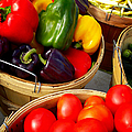Vegetarian And Organic Farmers Produce by Julie Palencia