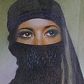 Veiled Beauty  by Margaret Riley
