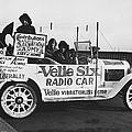 Velie Six Radio Car by Underwood & Underwood