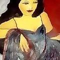 Velvet And Sateen by Duygu Kivanc