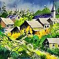 Vencimont Watercolor  by Pol Ledent
