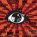 Vendetta Typography by Sassan Filsoof